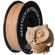 Geeetech 1 kg / rollo de filamento de madera de la UE 1,75 mm para impresora 3D
