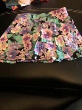 Girls Childrens Place Size M 7/8 Floral Tropical Skirt. Look!