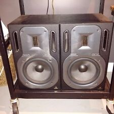 Behringer B3031A Active Ribbon Studio Reference Monitors W/Kevlar Woofer USED