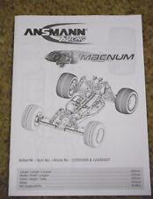 Nuevo Ansmann macnum Instrucciones / Build Manual