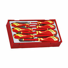 Teng Tools TTV907N - 7 Piece Flat/PH/PZ Insulated Screwdriver Set