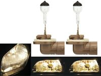 Halogen 879 27W 3800K Stock Two Bulbs Fog Light Replacement Plug Play Lamp Fit