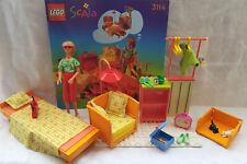 LEGO SCALA - SET 3114 - 1 FIGURINE + ACCESSOIRES + 1 NOTICE  ( année 1998 )