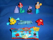 LITTLE MERMAID Set 6 US American Nestle Magic RARE 2nd Series PROTOTYPE Figures
