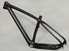 "29er Toray Carbon Mountain Bicycle MTB Full Carbon UD Matt Bike Frame 17.5"" BSA"