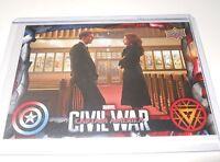 Captain America Civil War Trading Card Black Widow/Scarlett Johansson #32