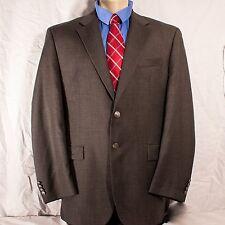 Ralph Lauren Men's Blazer 44L Silver Button Grey 2 Button Sport Coat Long