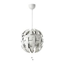 IKEA PS 2014 Pendant Lamp White Silver Color 003.114.98