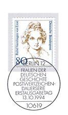 BRD 1994: Rahel Varnhagen von Ense Nr. 1755 mit Berliner Sonderstempel! 1A! 1708