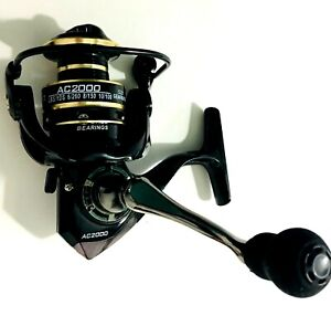 12BB Spinning Fishing Reel 5.2:1 Gear Freshwater /Salt Right / Left Hand AC2000