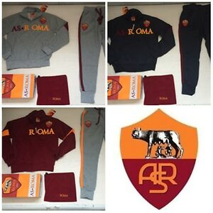 FW15 as Roma Amistad Tracksuit Official Man Sweatshirt Band Neck