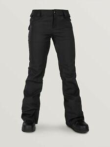 VOLCOM Women's SPECIES STRETCH Snow Pants - BLK - XS - NWT