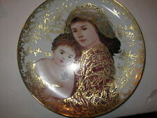 And Unto Us a Child is Given plate by Edna Hibel