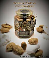Amlou aux Amandes ,Huile de Coco & Miel 100% Naturelle.  100% Biologique .