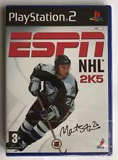 PS2 ESPN NHL 2K5, UK Pal, Brand New & Factory Sealed