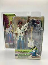 """Jimi Hendrix 1969 Woodstock McFarlane 7"""" Action Figure 2003"""