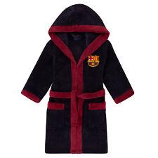 Barcelona FCB Enfants Robe de Chambre / Peignoir (enfants Garçons PJs Pyjama) Age 9/10