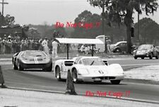 Mike Spence & Jim Hall Chaparral 2F Sebring 12 Hours 1967 Photograph 1