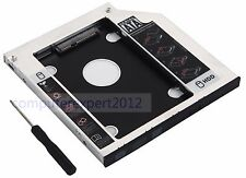 2nd SATA Hard Drive SSD HDD Optical Frame Tray Caddy for HP 240 250 255 G3 G4 G5