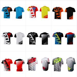 Mens Fox race Riding Jersey T-shirts Motocross/MX/ATV/BMX/MTB Dirt Bike K23 NEW