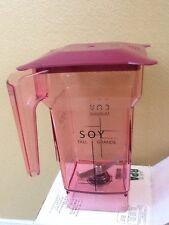 Blendtec Red Fourside Jar With Red Hard Lid   Brand new  (set of 2)