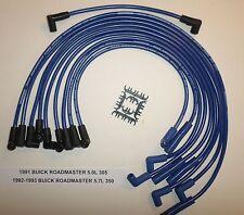 BUICK ROADMASTER 1991-1993 5.0L/305 & 5.7L/350 BLUE 8.5mm PERF Spark Plug Wires