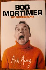 More details for and away .... - bob mortimer - hand signed - 1/1 - hb - a