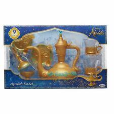 Disney ALADDIN AGRABAH TEA SET 9-Piece Toy Playset