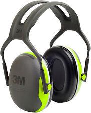 PELTOR Kapselgehörschutz X4A Gehörschutz 35dB Bügelgehörschutz schwarz/grün