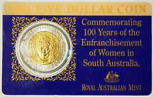 1994 $5 Coin - 100 Years of Enfranchisement of Women - South Australia