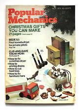 Popular Mechanics NOVEMBER 1973 How to Fix a Cothes Dryer Unclog Drains Cut Heat