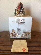Lilliput Lane Village House Four Seasons 1987 Deed /Original Box & Packaging