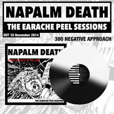 "Napalm Death ""The Earache Peel Sessions"" 'Negative Approach' Vinyl LP - 300 ONLY"