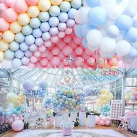 "10-50 Pastel Latex Balloons Macaron Candy Many Colour Party 5-10"" Balon Balloons"