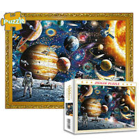1000 Pieces Space Planet Jigsaw Puzzles Space Travel Adult Kids Educational Toy