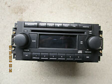 06 CHRYSLER 300 DODGE CHARGER MAGNUM SINGLE DISC CD PLAYER RADIO P/N P05091710AE