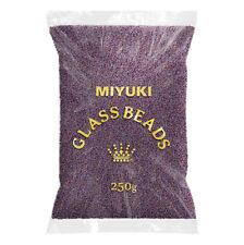 Wholesale Miyuki Size 15/0 Matte Brown AB 15-153FR Seed Beads 250g (N72/2)