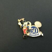 DLR - 50th Anniversary Mickey Mouse Disney Pin 38499