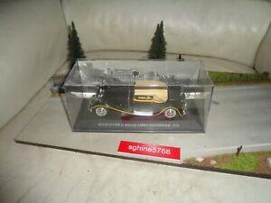 Ixo kiosque 1/43 - Bugatti Type 41 Royale Cabrio Weinberger 1931 - CVX
