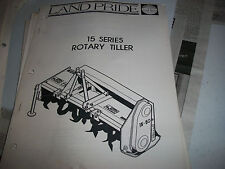 Land Pride Owner's PARTS Manual 15 SERIES ROTARY TILLER