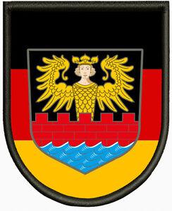 Wappen von Emden Aufnäher, Pin, Aufbügler