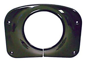 Omix-Ada 13318.08 Steering Column Cover in Black Fits 76-86 CJ5/ CJ7/ Scrambler