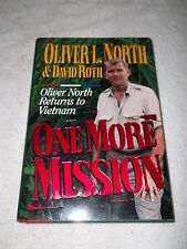 Oliver North One More Mission Autograph Book