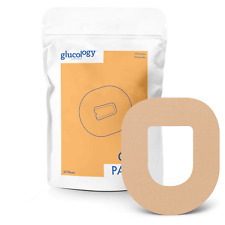 Glucology Omnipod CGM Patch 25 Pack   Waterproof, Latex Free & Hypoallergenic