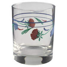 Lenox POPPIES ON BLUE (FOR THE BLUE) 12 Oz Double Old Fashioned Glass 6999149