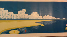 Phish Poster 2009 Scott Campbell Sac Shoreline Mountain View Limited! Nt pollock