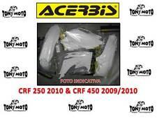 KIT PLASTICHE HONDA CRF 250 2010 CRF 450 R 2009 2010 BIANCO 0013148.030 ACERBIS