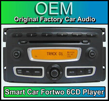 Smart Car Fortwo car stereo, 6 Disc CD player head unit with in built CD changer
