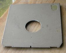 tan finish Linhof Technika IV V Lens board  compur 00 26.4mm hole offcentre