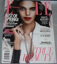 Elle Canada Magazine May 2013 Grace Mahary Emma Stone Christine Horne